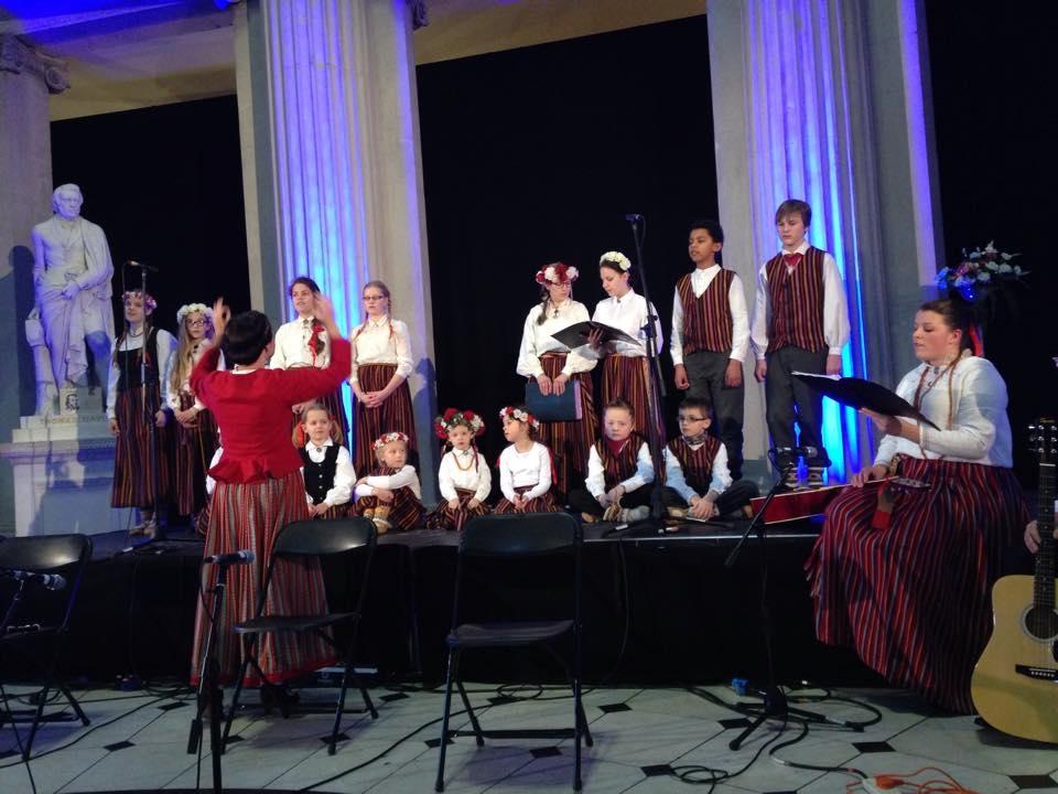 Mazais Letiņš -  Trad Fest 2015, Dublin City Hall