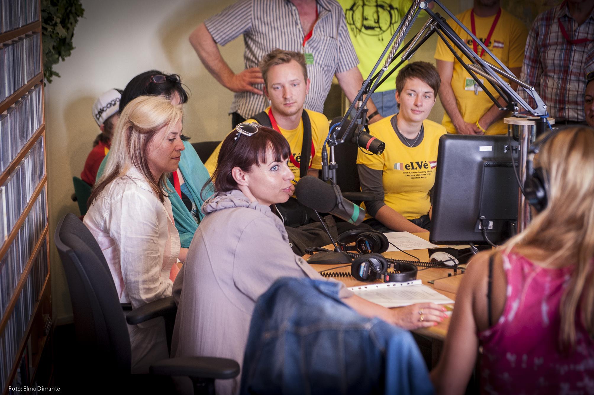 """Koris """"eLVe"""" Latvijas Radio 2"""