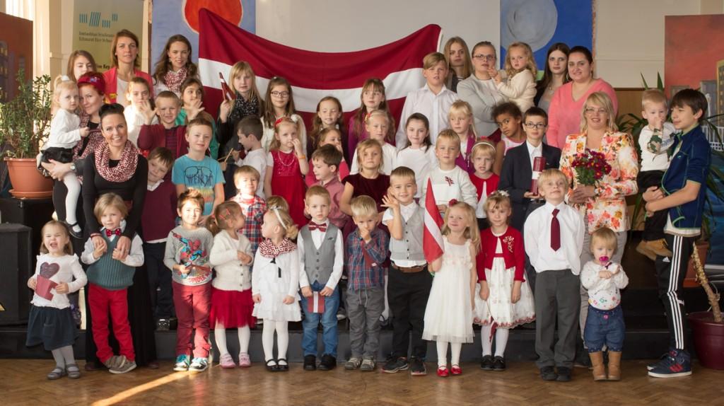 Latvijas proklamēšanas 97.gadadiena