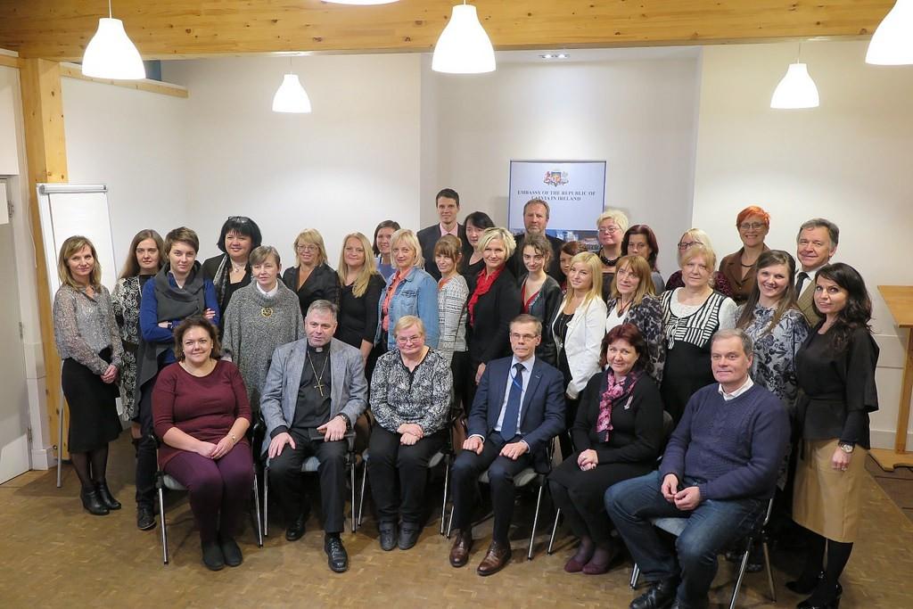 sanāksme par aktualitātēm diasporā Īrijā
